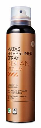 Matas Striber Selvbruner Spray Instant Medium