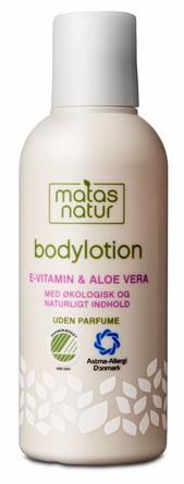 Matas Natur Aloe Vera & E-vitamin Bodylotion Rejsestørrelse 80 ml