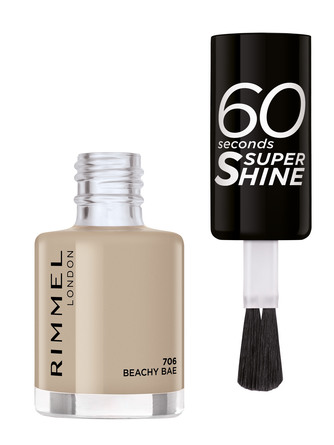 Rimmel 60 Seconds Neglelak 706 Beachy Bae