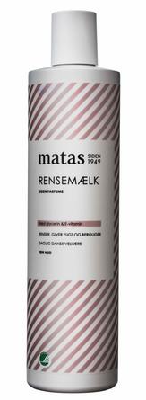 Matas Striber Rensemælk til Tør Hud Uden Parfume 500 ml
