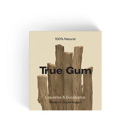 True Gum Liquorice & Eucalyptus 20 gr.