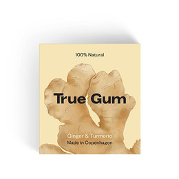 True Gum Ginger & Turmeric 20 gr.