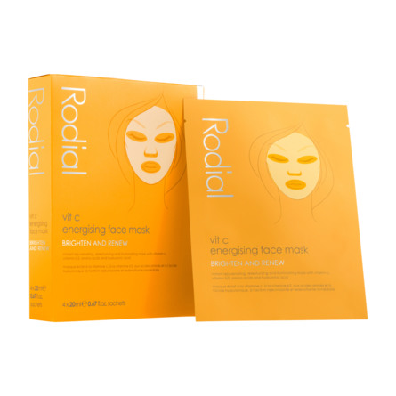 Rodial Vitamin C Energising Face Mask 4 stk.