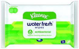 Kleenex Water Fresh Anti-Bacterial 40 pak