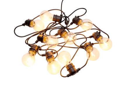 Sirius Tobias Pære Lyskæde 10 Lys Klare LED-pærer