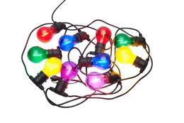 Sirius Tobias Pære Lyskæde 10 Lys Multifarvede LED-pærer