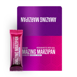 BodyLab Protein Marzipan Kasse med 12 stk.
