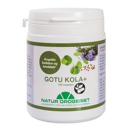 Natur Drogeriet Gotu Kola+  280 mg gotu kola og 105 mg cholin 120 kapsler