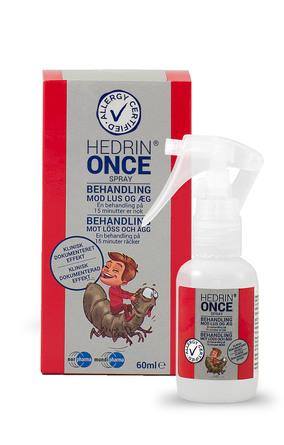 Hedrin ONCE Spray Gel 60 ml