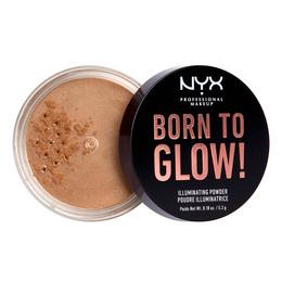 NYX PROFESSIONAL MAKEUP Born To Glow Illuminating Powder Warm Strobe
