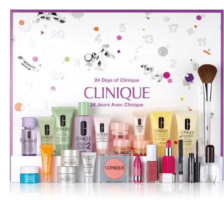 Clinique Julekalender med 24 Små Pakker