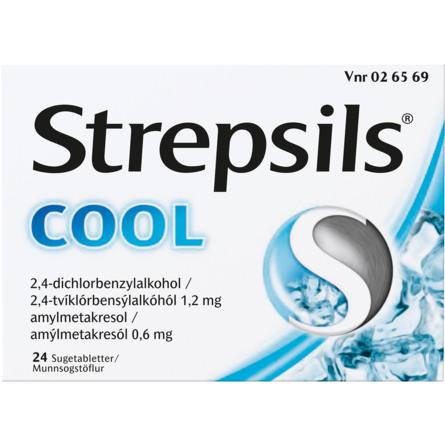 Strepsils Cool sugetablet 24 stk