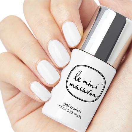 Le mini macaron Gel Manicure Kit  Milkshake & Tool