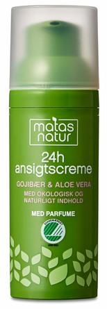 Matas Natur Gojibær & Aloe 24H Ansigtscreme 50 ml