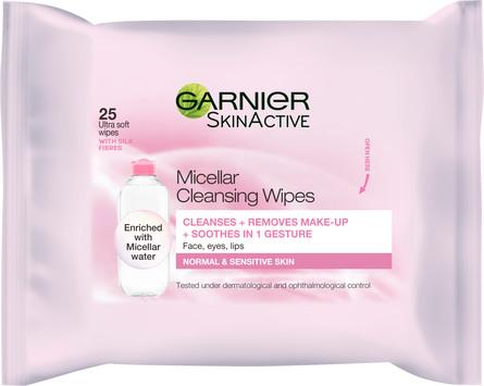 Garnier Skin Active Micellar Renseservietter 25 stk.