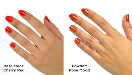 Le mini macaron Manicure Powder Palette