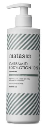 Matas Striber Carbamid Bodylotion 10% Uden Parfume 400 ml