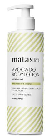 Matas Striber Avocado Bodylotion Uden Parfume 400 ml