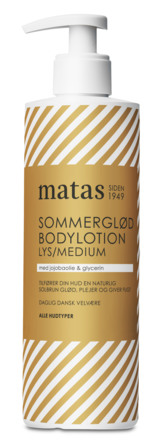Matas Striber Bodylotion Sommerglød Lys/Medium 500 ml
