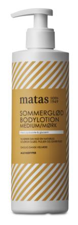 Matas Striber Sommerglød Bodylotion Medium/Mørk 400 ml