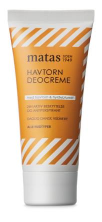 Matas Striber Havtorn Deocreme 50 ml