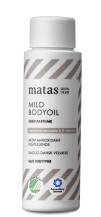 Matas Striber Mild Bodyoil 40 ml, rejsestørrelse