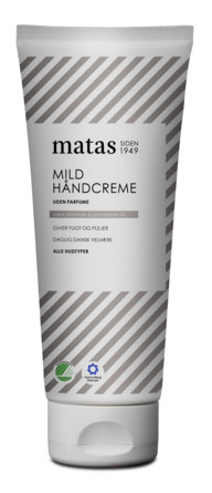 Matas Striber Mild Håndcreme Uden Parfume 200 ml