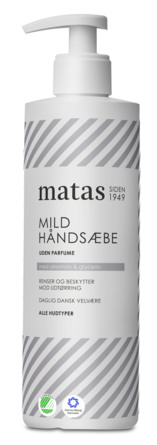 Matas Striber Mild Håndsæbe Uden Parfume 400 ml
