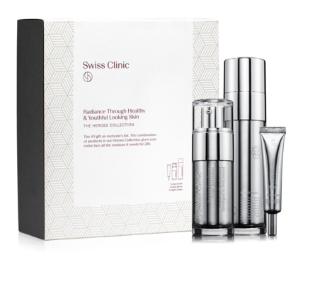 Swiss Clinic Heroes Collection Gift Kit 95 ml