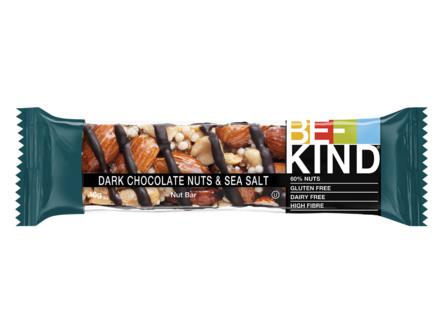 BE-KIND Dark Chocolate Nuts & Seasalt 40 gr.
