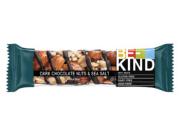 BE-KIND Dark Chocolate Nuts & Seasalt 40 gr.