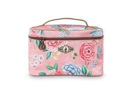 Pip Studio Beauty Case Medium Floral Pink