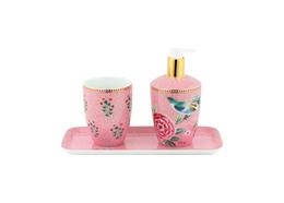 Pip Studio Badeværelsessæt Floral Pink
