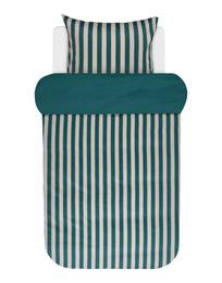 Marc O'Polo Classic Stripe Sengetøj Grøn 140 x 200