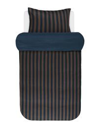 Marc O'Polo Classic Stripe Sengetøj Blå/brun 140 x 200