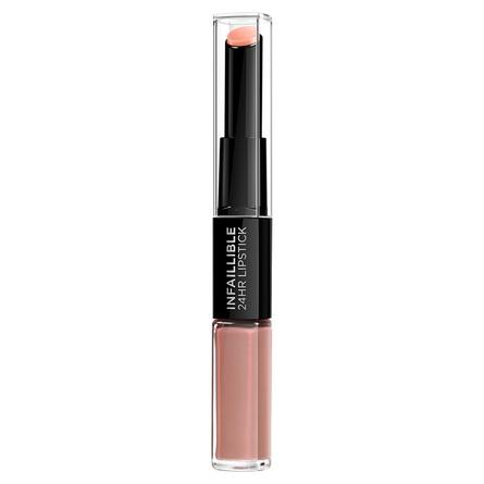 L'Oréal Paris Infaillible 24HR 2 Step Lipstick 116 Beige to Stay