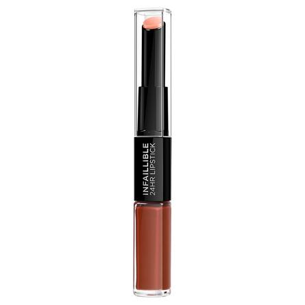 L'Oréal Paris Infaillible 24HR 2 Step Lipstick 117 Perpetual Brown