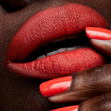 MAC Powder Kiss Lipstick Style Shocked!