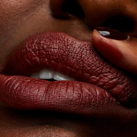 MAC Powder Kiss Lipstick Devoted To Chili Matte