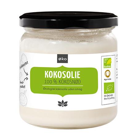 Kokosolie (u.smag - ideel til stegning) Ø 300 g