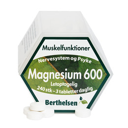 Berthelsen Magnesium 600  240 tabl.