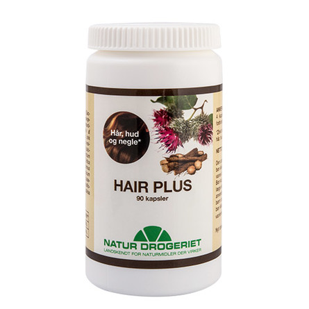 Natur Drogeriet Hair Plus 90 kaps