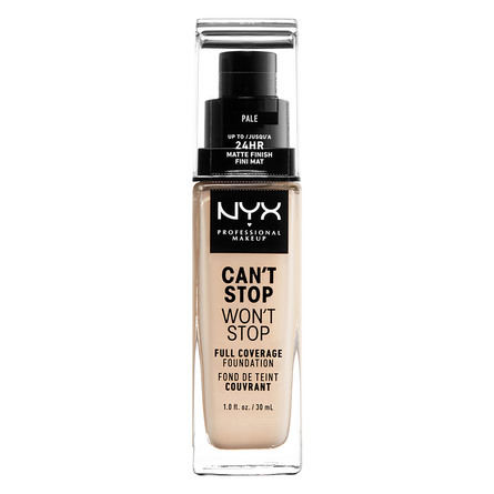 NYX PROFESSIONAL MAKEUP Can't Stop Won't Stop 24-Hours Foundation Pale