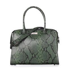 Rosemunde Taske Grøn Python