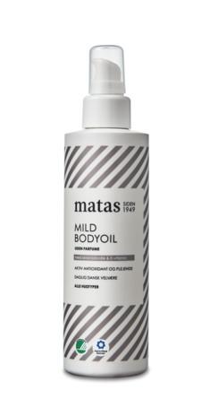 Matas Striber Mild Bodyoil Uden Parfume 200 ml