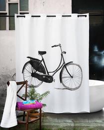 Atenas Badeforhæng Bicycle 180 x 200