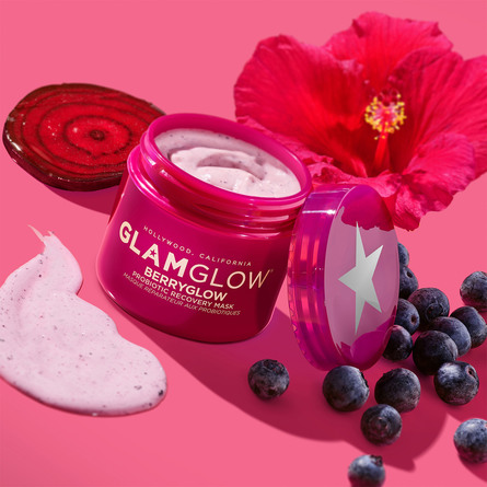 GlamGlow Berryglow Probiotic Recovery Mask 75 ml