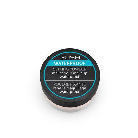 Gosh Copenhagen Waterproof Setting Powder 001 Transparent
