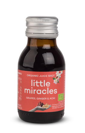 Little Miracles Grape, Ginger & Acai juiceshot 60 ml