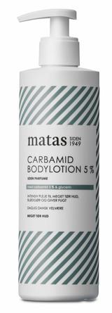 Matas Striber Carbamid Bodylotion 5% Uden Parfume 400 ml